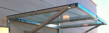 Daszki i schody  Vordächer und Abdachungen